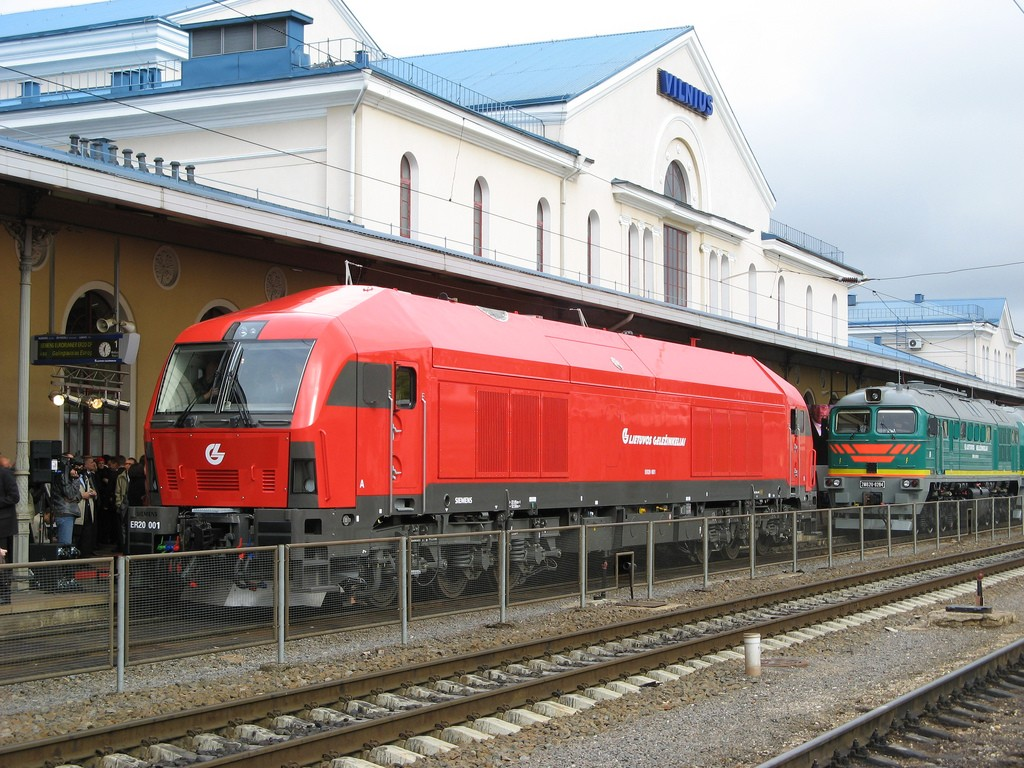 Trains from Vilnius, Lithuania - Check in Price