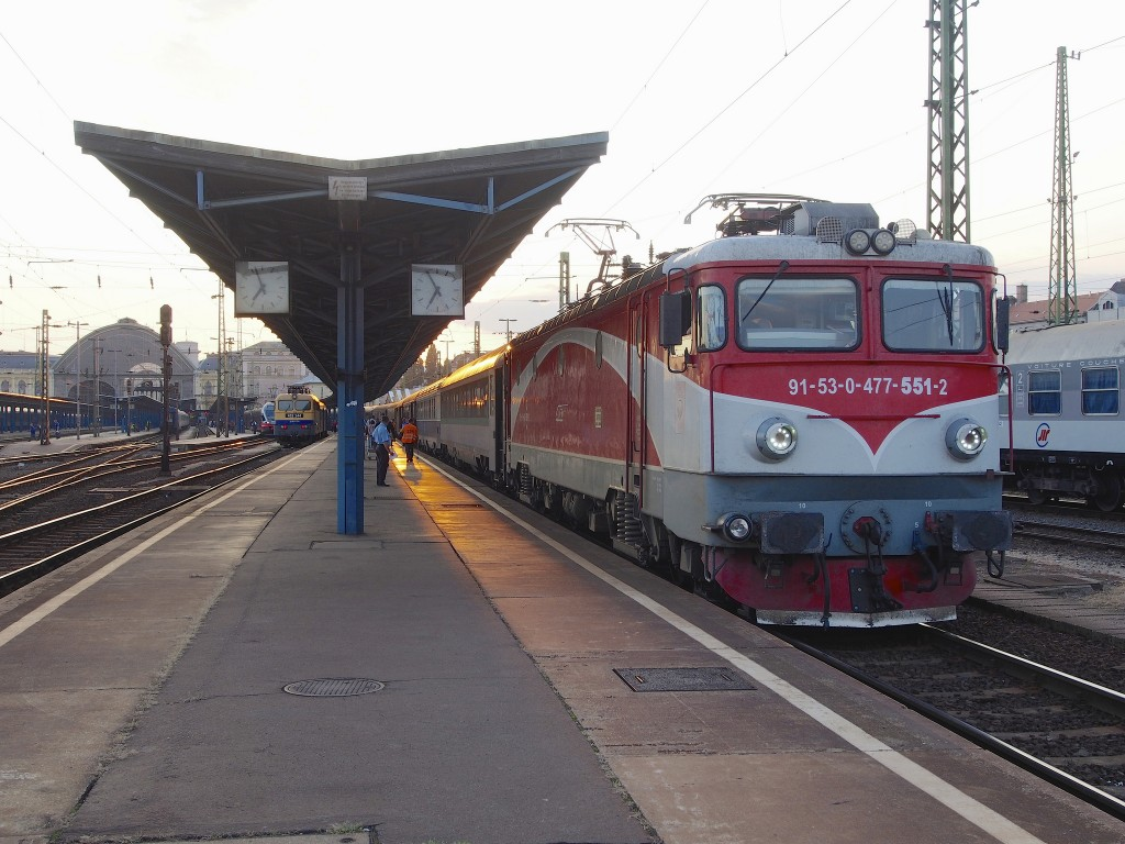 Budapest Bucharest EuroNight train