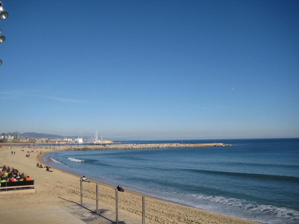 Barcelona Beach Photo By Luis Penados