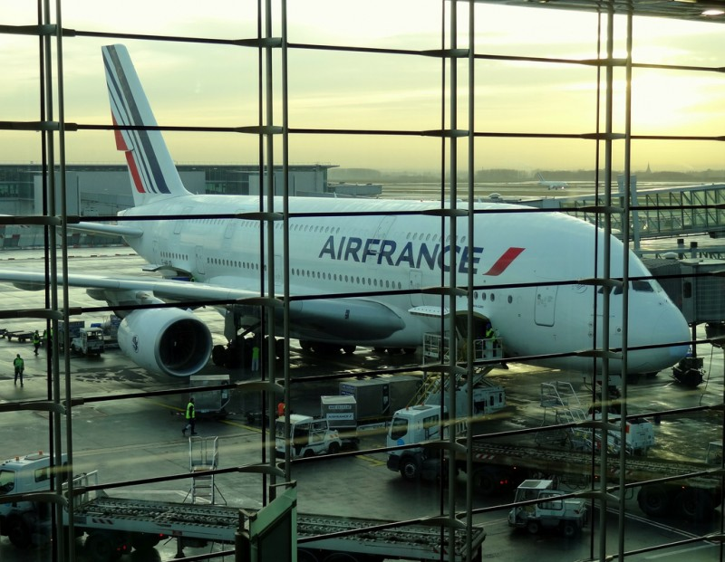 a380 paris air france