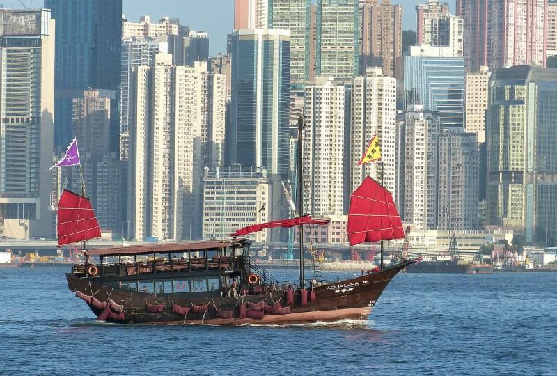 hong kong boat