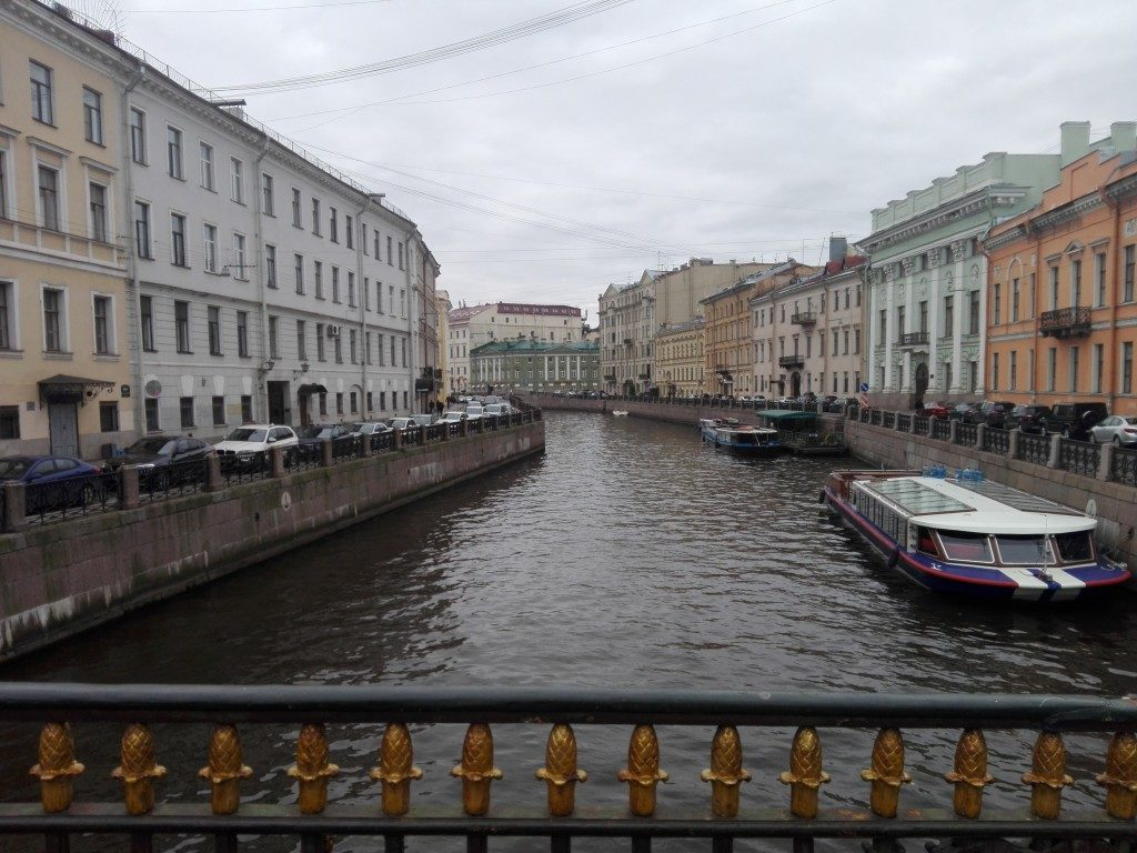 saint petersburg canal russia