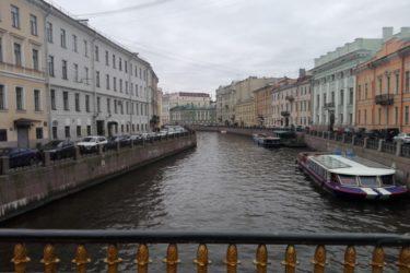 saint petersburg canal russia