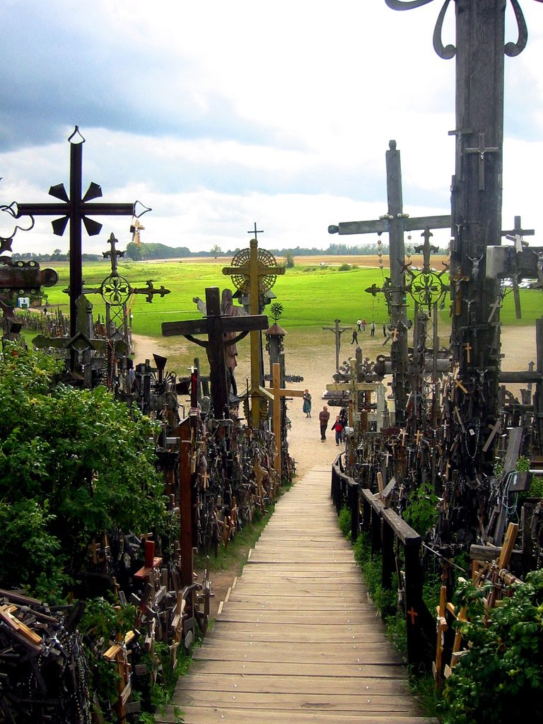 Hill of Crosses, Lithuania.