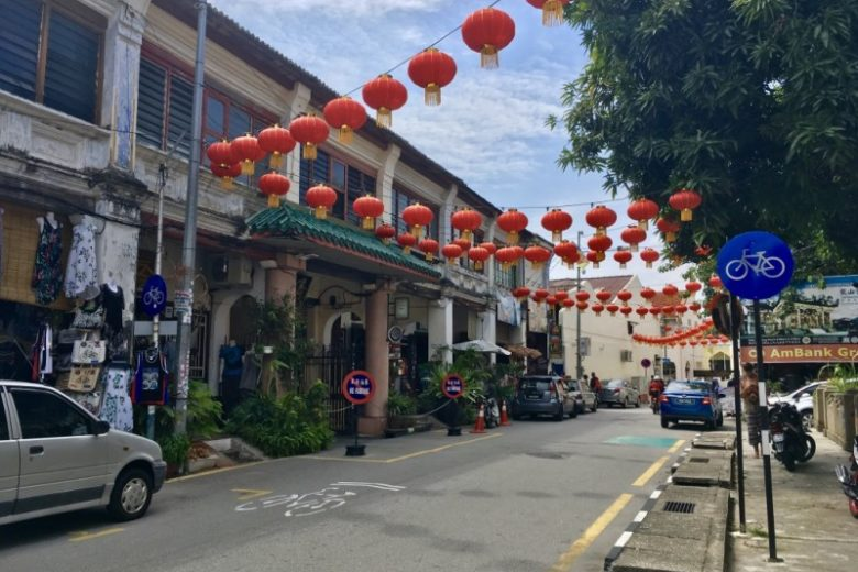 where to stay in penang chinatown