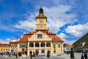 brasov old town transylvania