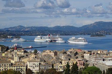 port of corfu greece