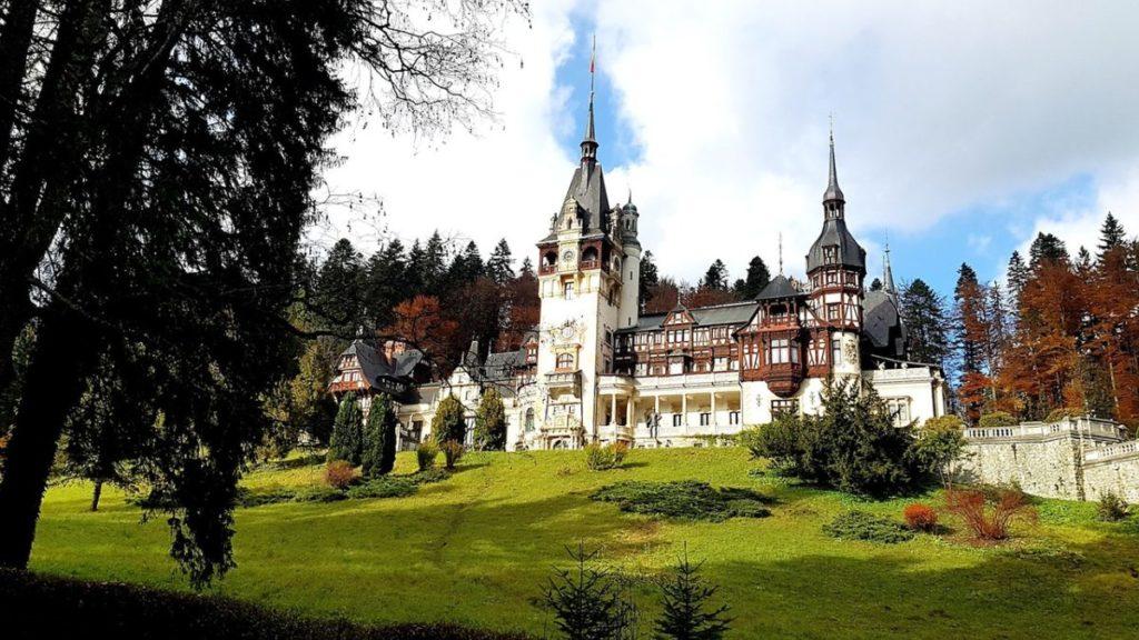 castle europe romania