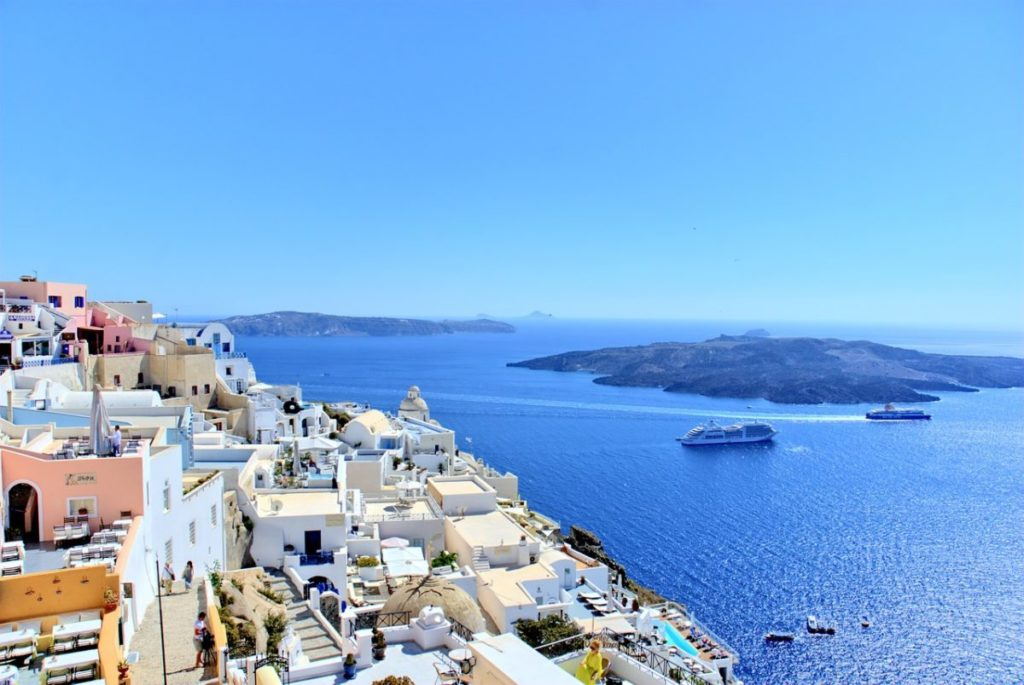 santorini greece summer