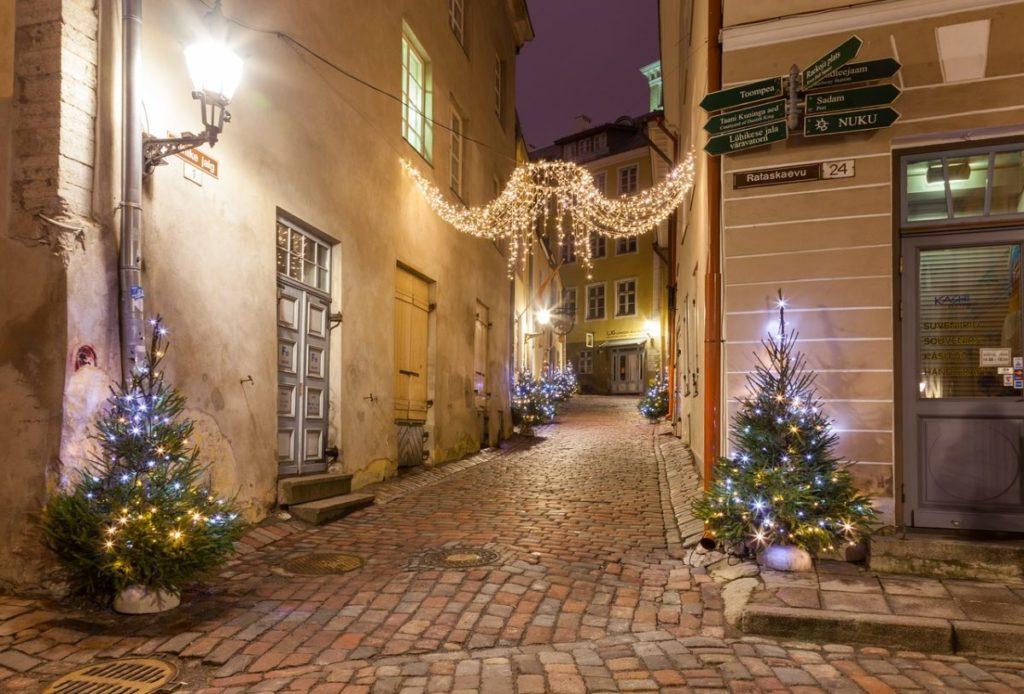 Tallinn Europe Winter