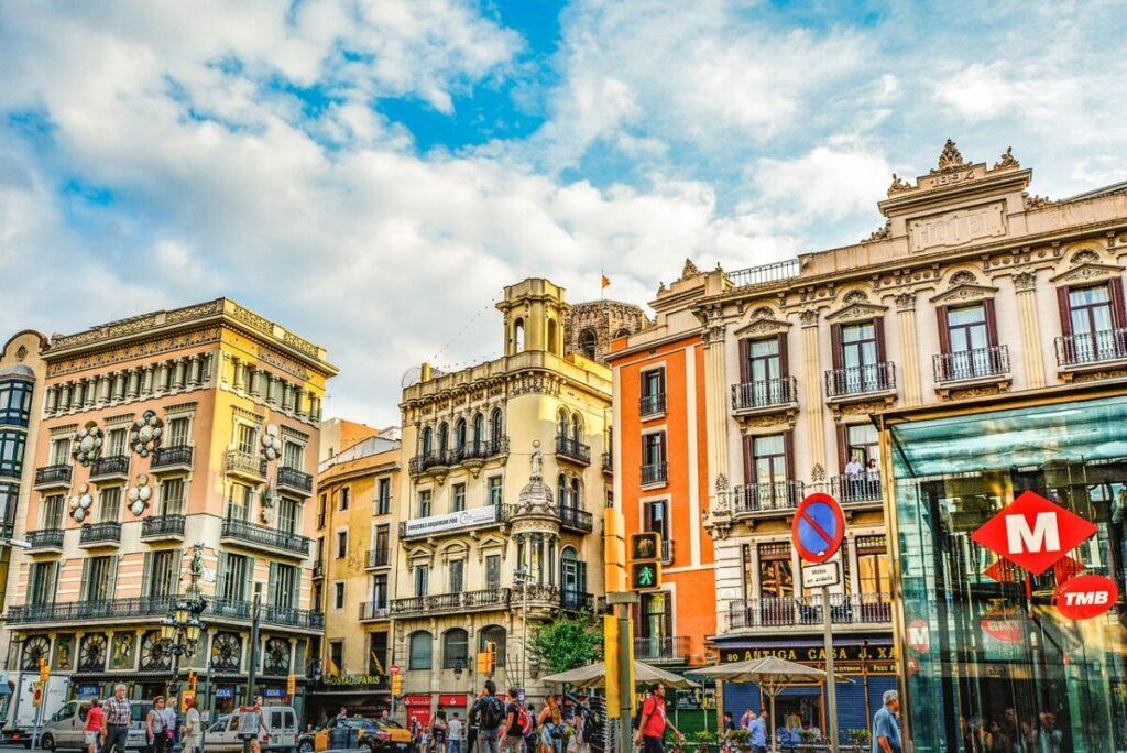 barcelona spain street