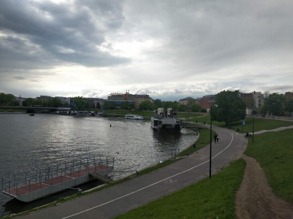 Krakow Vistula River