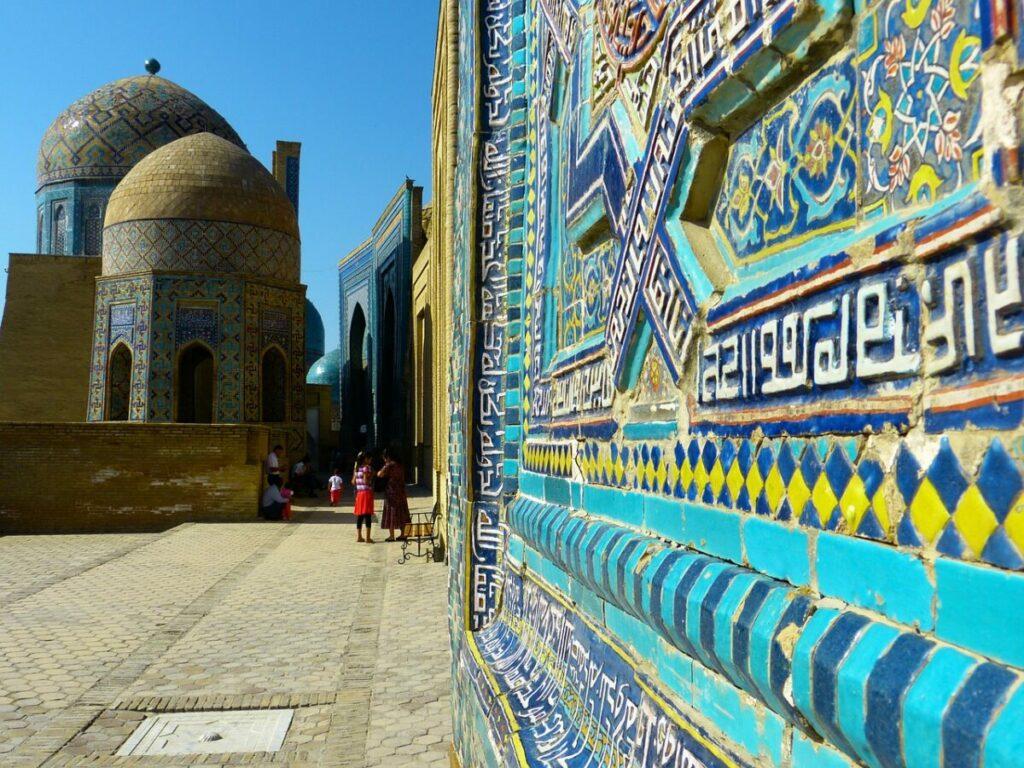 Shah-i-Zinda in Samarkand, Uzbekistan