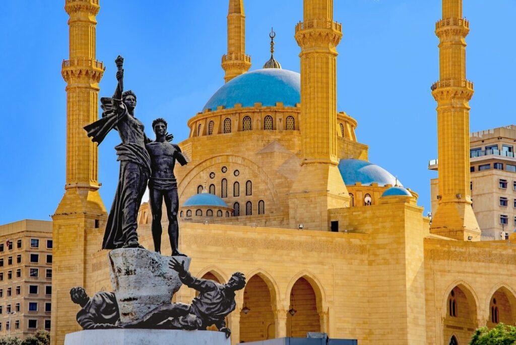Al Amine Mosque, Lebanon