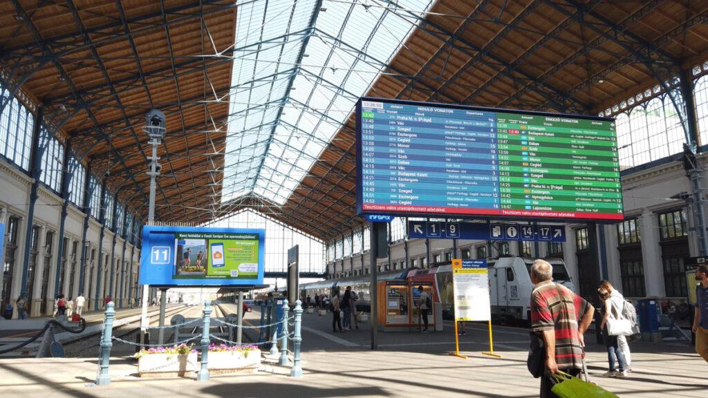 Budapest Nyugati Station